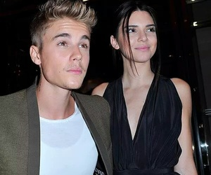 justin bieber, kendall jenner, and celebrity image