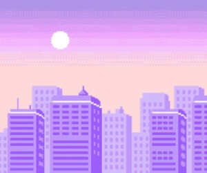 aesthetic, purple, and pink image