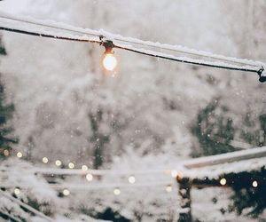 christmas, cold, and white image