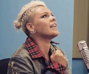 blonde, idol, and P!nk image