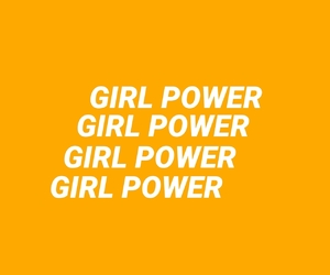 empowerment, feminist, and girls image