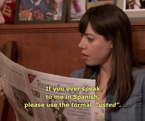 quotes, spanish, and aubrey plaza image