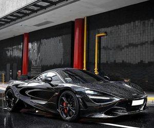 black, car, and rain image