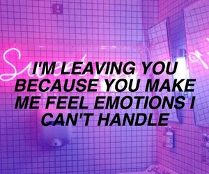emotions, love, and purple image