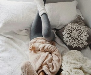 girl, cozy, and winter image