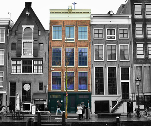 amsterdam, museum, and anne frank house image