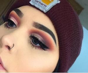 makeup, eyeshadow, and tumblr image