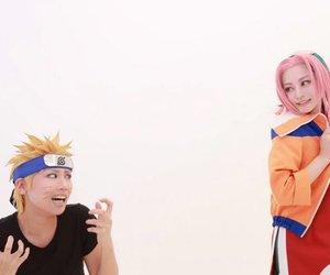 cosplay, naruto, and yellow x pink image