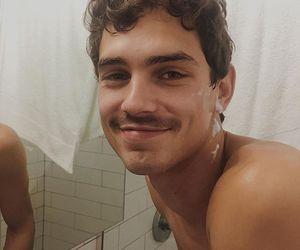 men, shaving, and cutie image