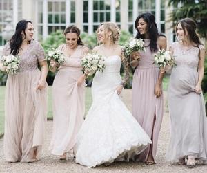 bridesmaid, girl, and girls image
