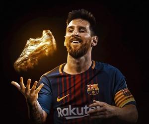 Barca, Leo, and lionel messi image