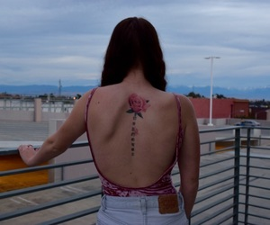 back tattoo, photography, and tattoo image