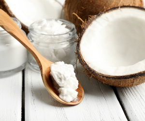 beauty, health, and coconut oil image