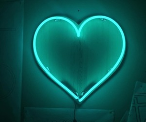 green and heart image