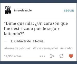 tumblr, frases en español, and español image