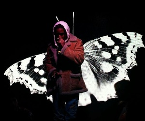 butterfly and cyber ghetto image