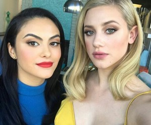 veronica lodge, lili reinhart, and camila mendes image