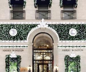 harry winston, luxury, and christmas image