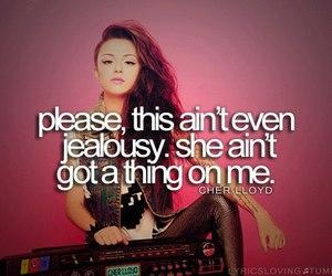 cher lloyd and Lyrics image