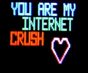 crush, internet, and grunge image