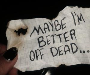 suicidal, tristeza, and tumblr image