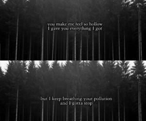 breakup, forest, and heartbreak image