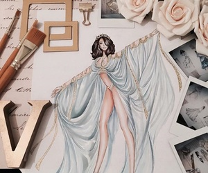 accessories, art, and drawing image