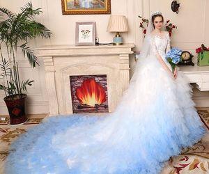 bridal, bride, and girl image