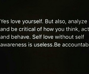awareness, honest, and quote image