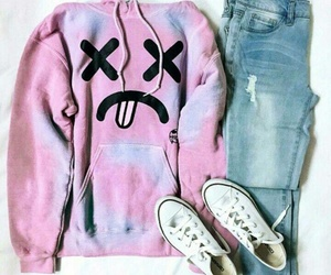 clothes, converse, and jean image