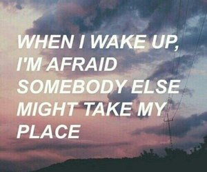 afraid, quotes, and grunge image