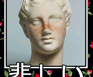 aesthetic, antique, and vaporwave image