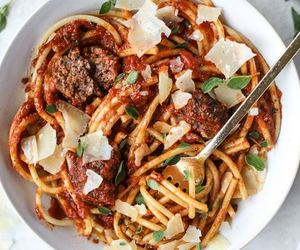 dinner and pasta image