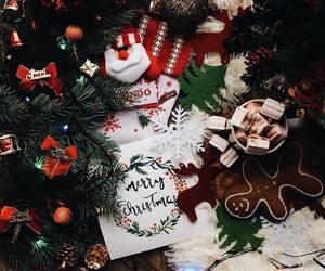 christmas, merry christmas, and santa claus image