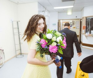 ️lorde, flowers, and music image