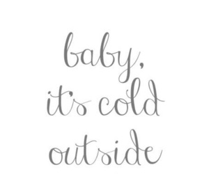 cold, december, and quote image