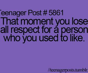 respect, quote, and teenager post image