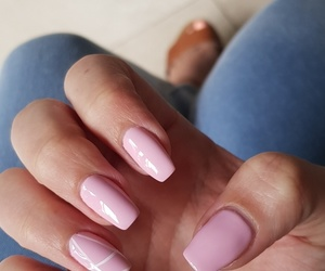 long nails, nail art, and gel nails image