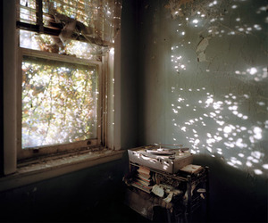 room, light, and grunge image