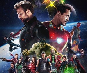 Avengers, captain america, and infinity war image