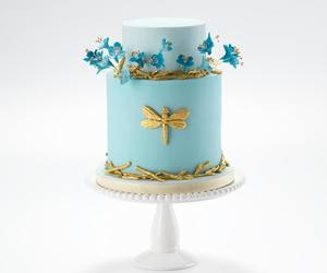 blue, pretty, and wedding image