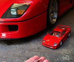 supercar, toy, and ferrari image