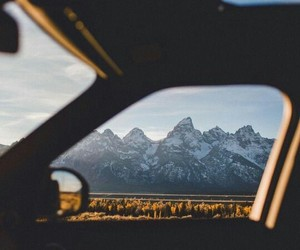 adventure, car, and mountains image