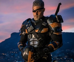 DC, justice league, and deathstroke image