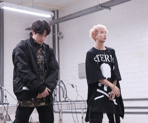 bts, jin, and rm image