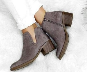 boots, chaussure, and shoes image