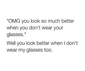 funny, glasses, and meme image