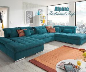 sleeper sofa, sectional sofa, and sectional sofa-bed image