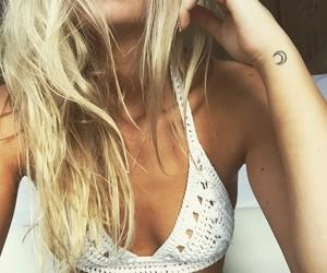 girl, boho, and tattoo image