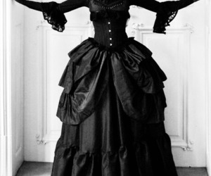 dress and gothic image